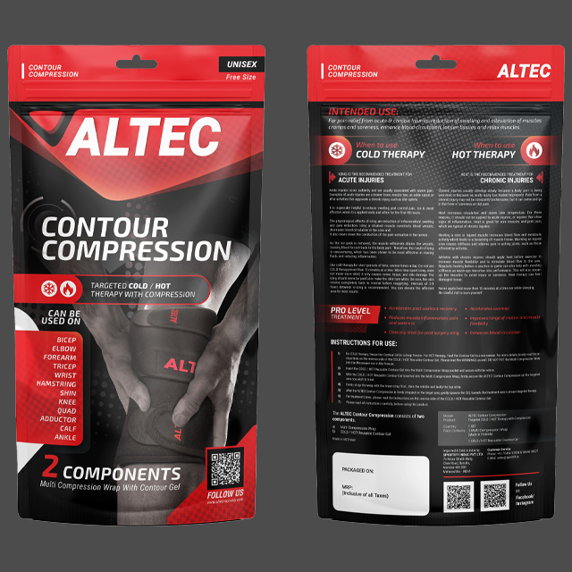 Contour Compression packaged view